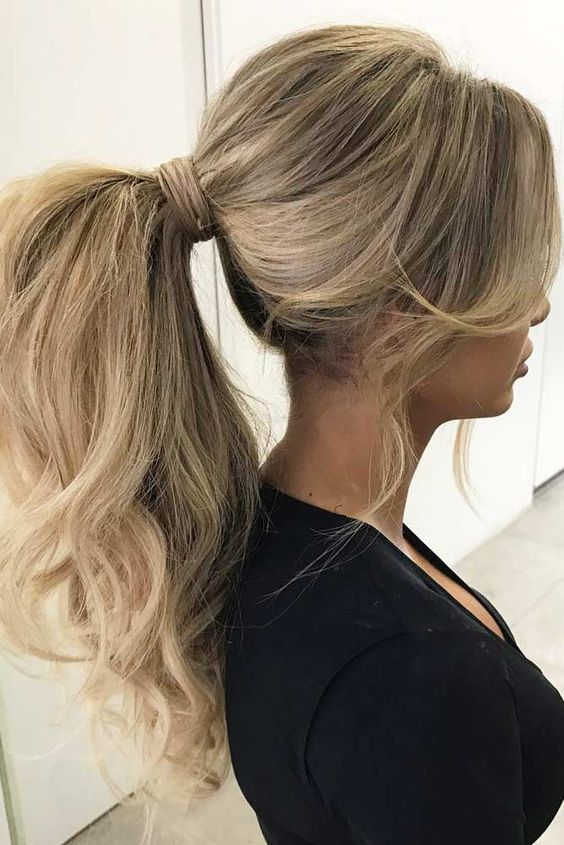 22 curly ponytail hairstyles