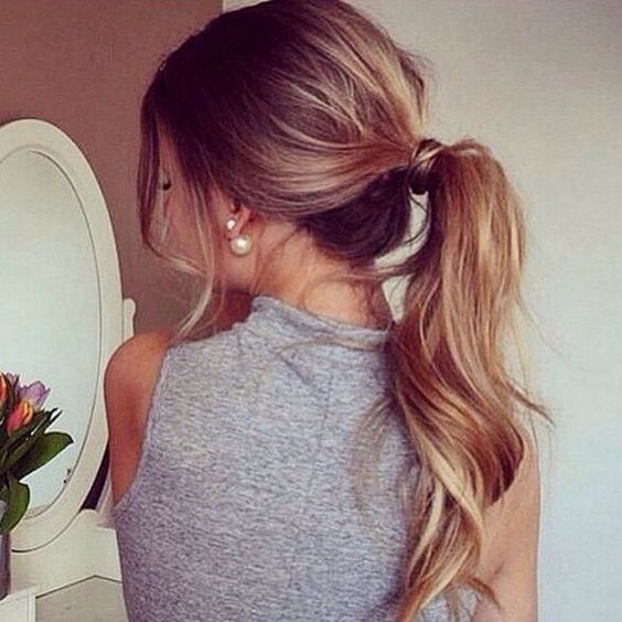 24 curly ponytail hairstyles