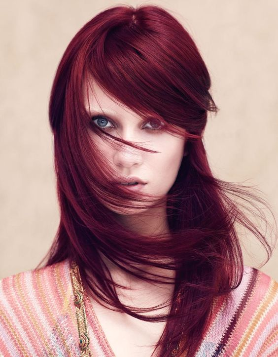 25 deep red hair color