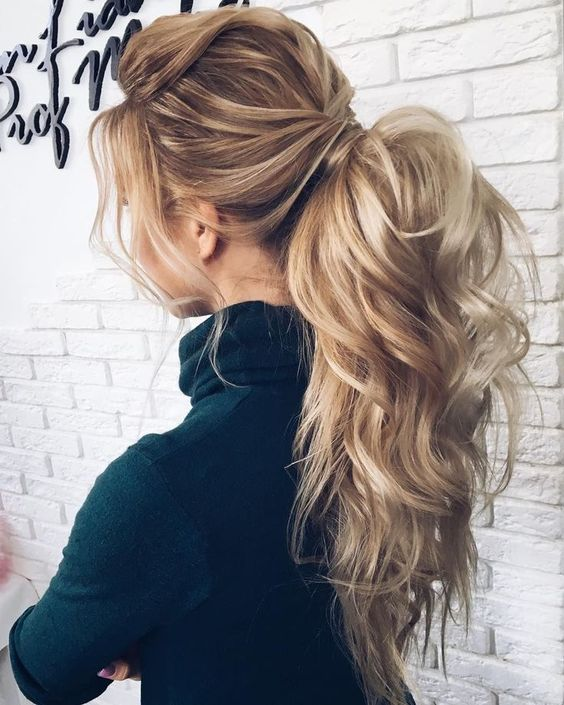 26 curly ponytail hairstyles