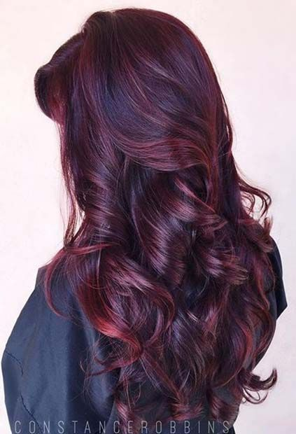 26 deep red hair color