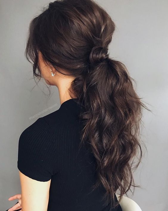 28 curly ponytail hairstyles