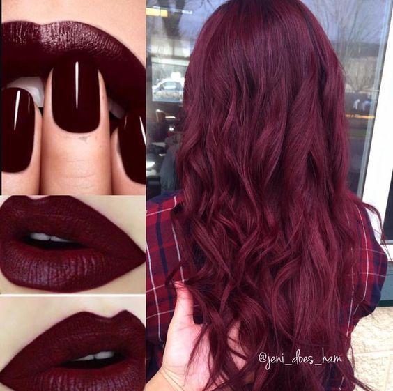 30 Burgundy hair color