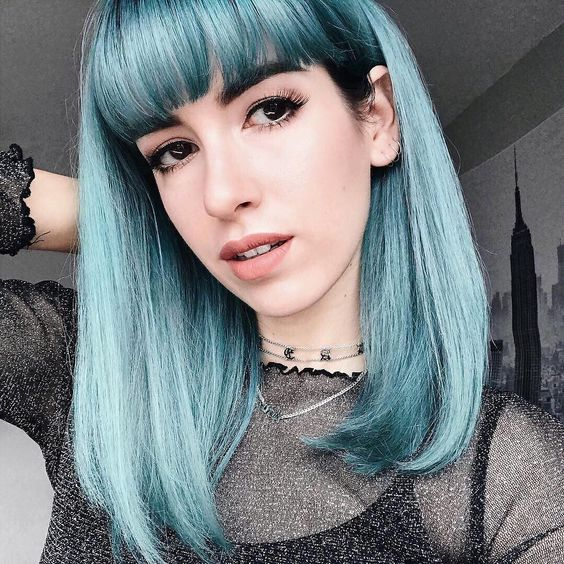 30 Pastel Blue Hairstyles
