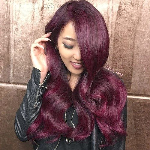 31 Burgundy hair color