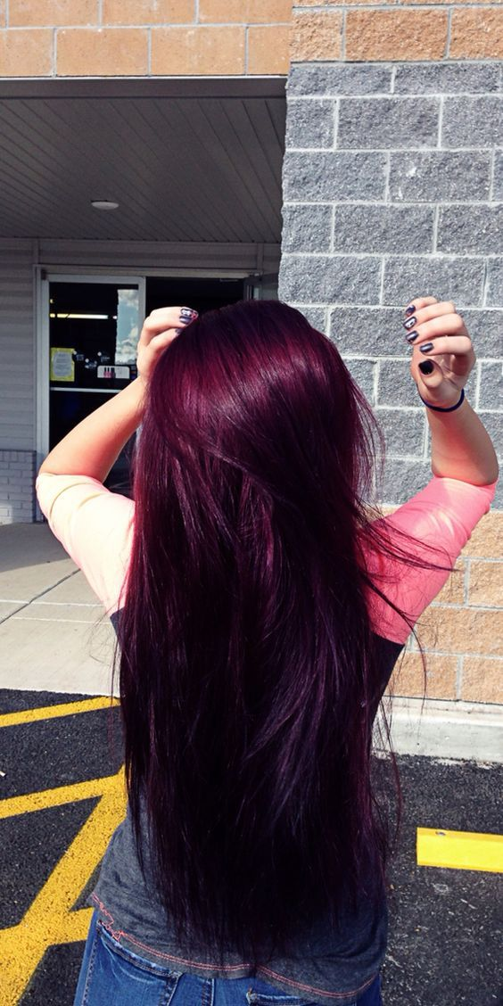 32 Burgundy hair color
