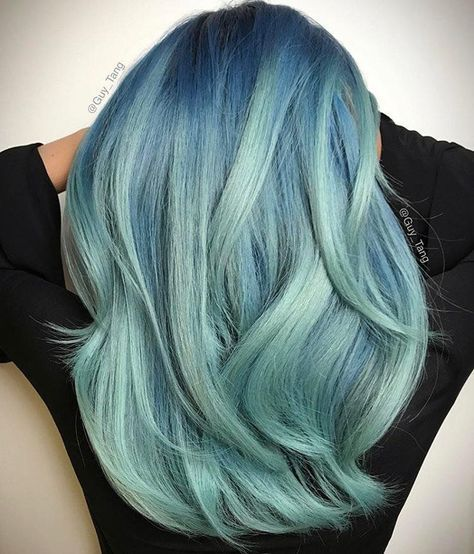 40 Pastel Blue Hairstyles