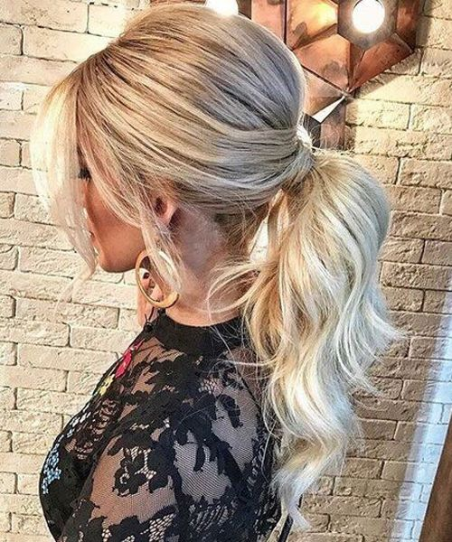 7 curly ponytail hairstyles
