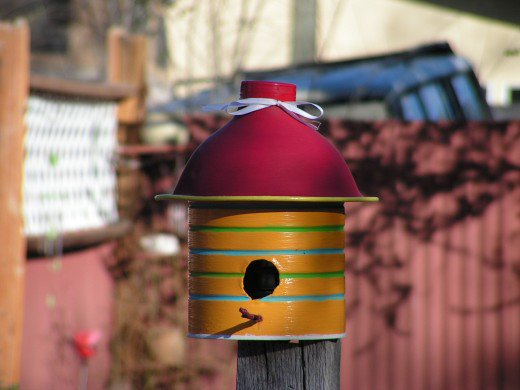 1 Coffee Can Birdhouse