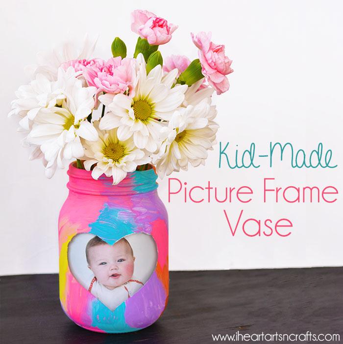 1 Kid-Made Picture Frame Vase