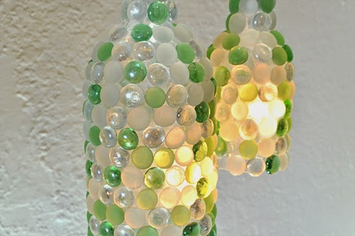 1 Wine Bottle Pendant Lamps