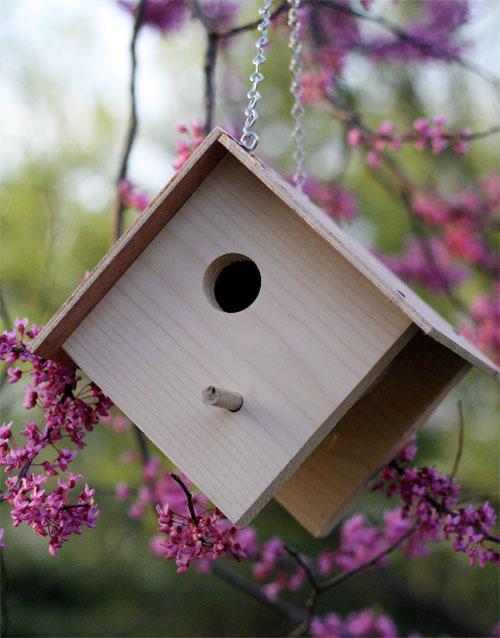 10 Wooden Birdhouse