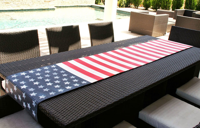 11 Flag Table Runner
