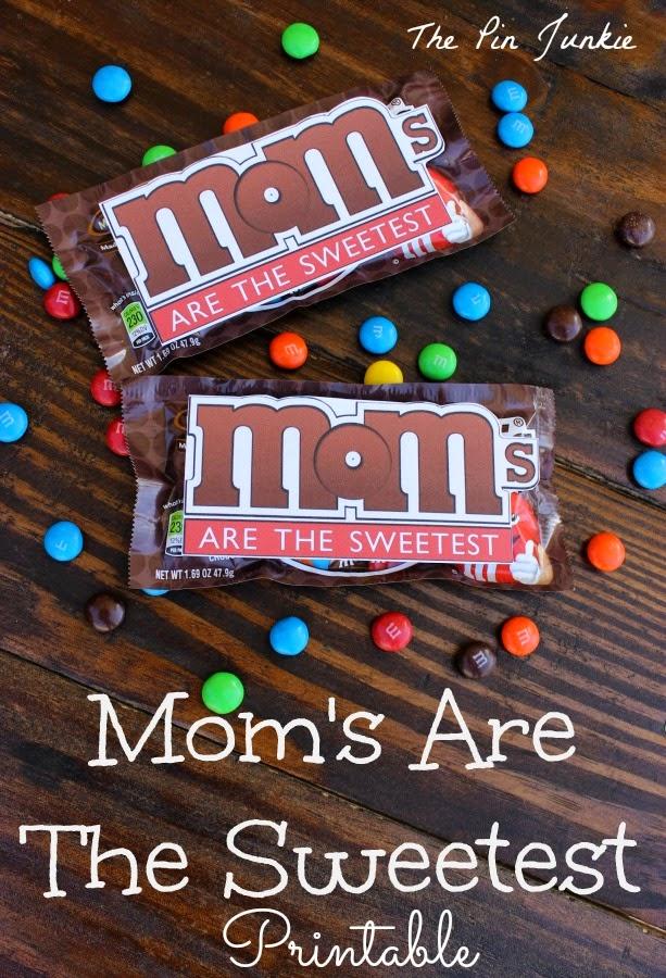 12 Sweet M&Ms card