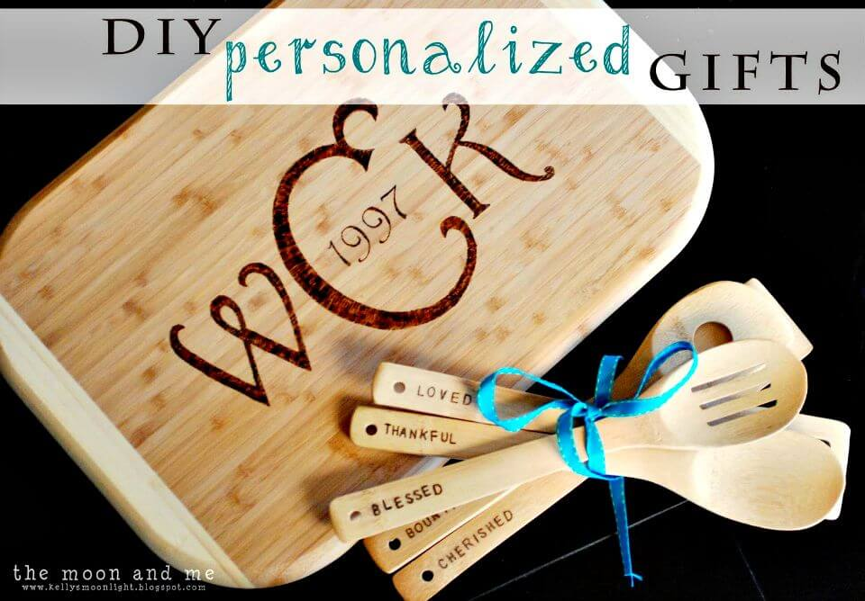 13 Easy DIY Personalized Cutting Board