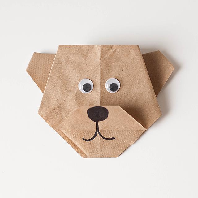 13 Easy Origami Bear