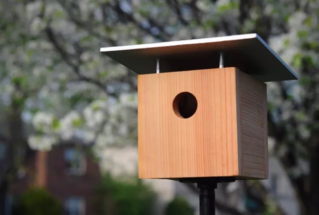 14 Modern Birdhouse