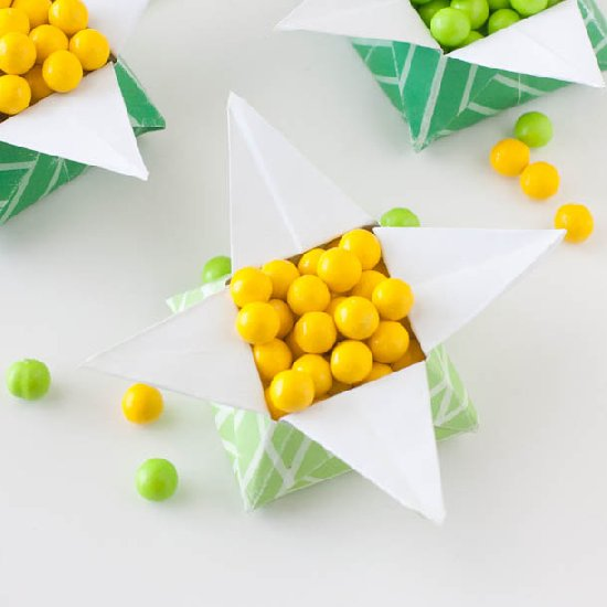 14 Pot of Gold Origami Star Box