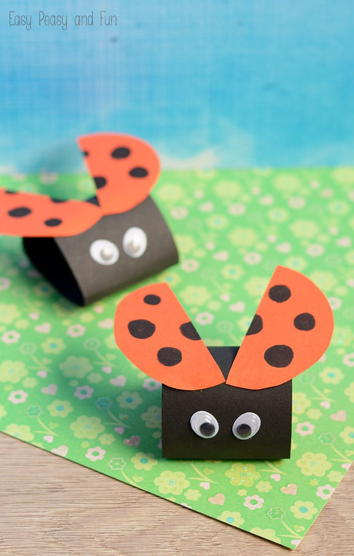 16 Simple Ladybug Paper Craft
