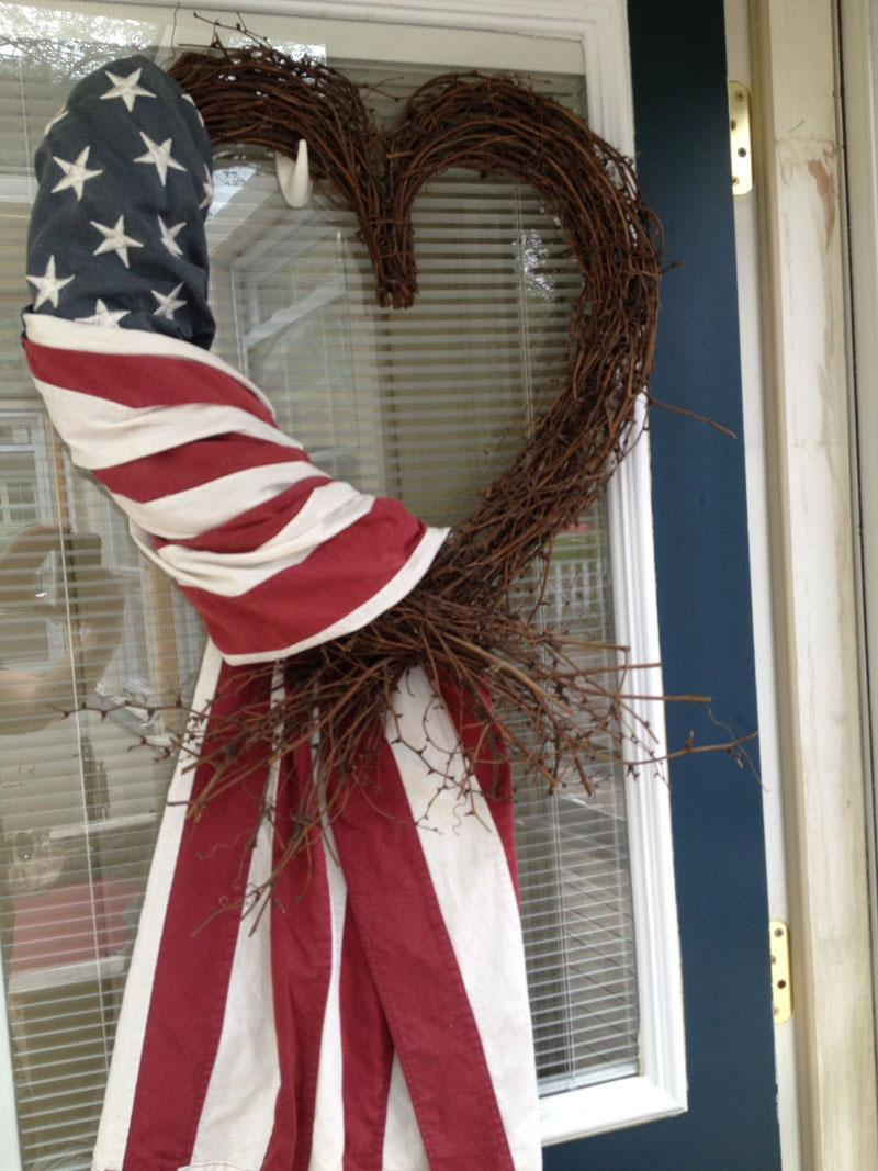 17 4th of July wreath