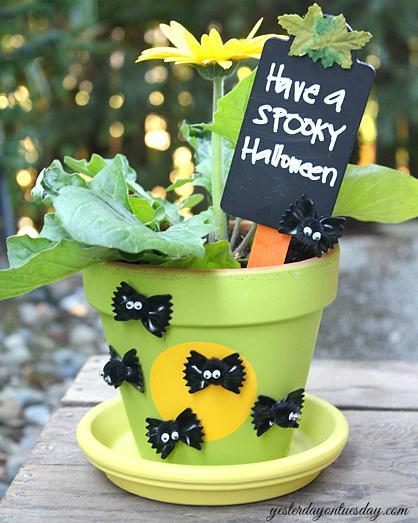19 Batty Flower Pot