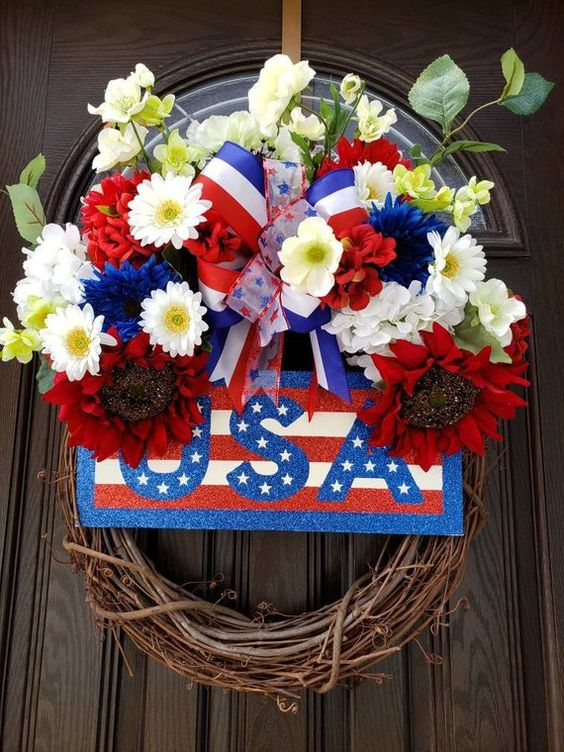 19 Patriotic Wreaths 4th of July
