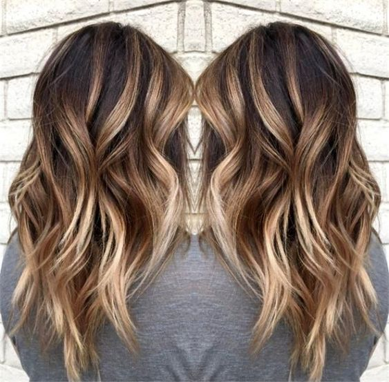 2 Balayage Hair Color