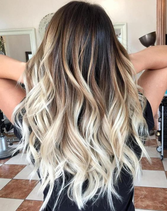 20 Balayage Hair Color