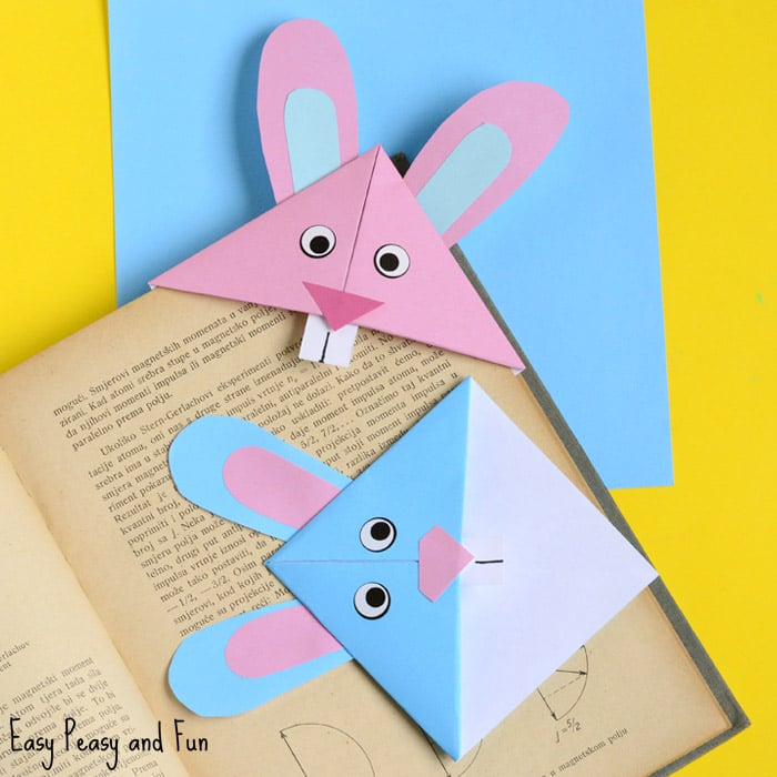 20 Easter Bunny Corner Bookmark