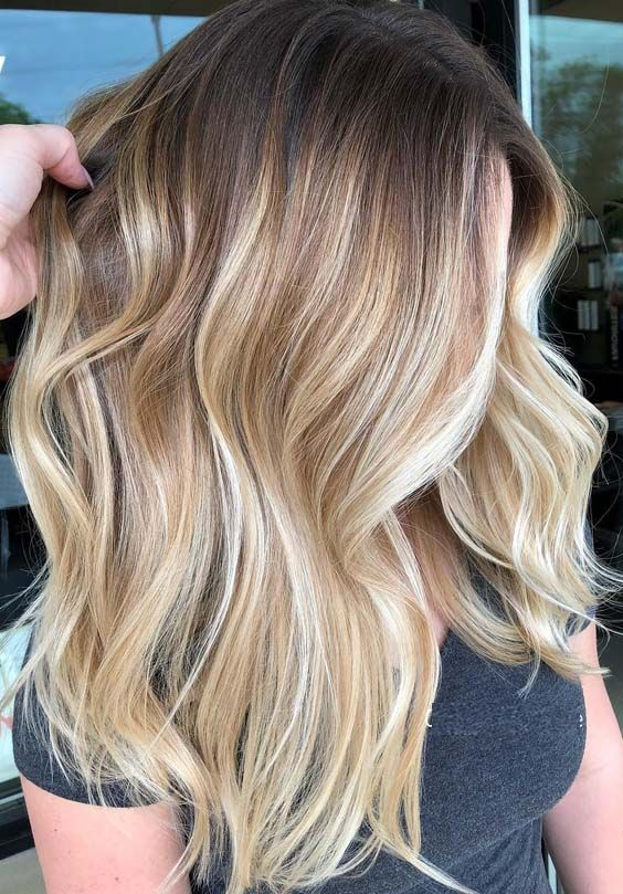 21 Balayage Hair Color