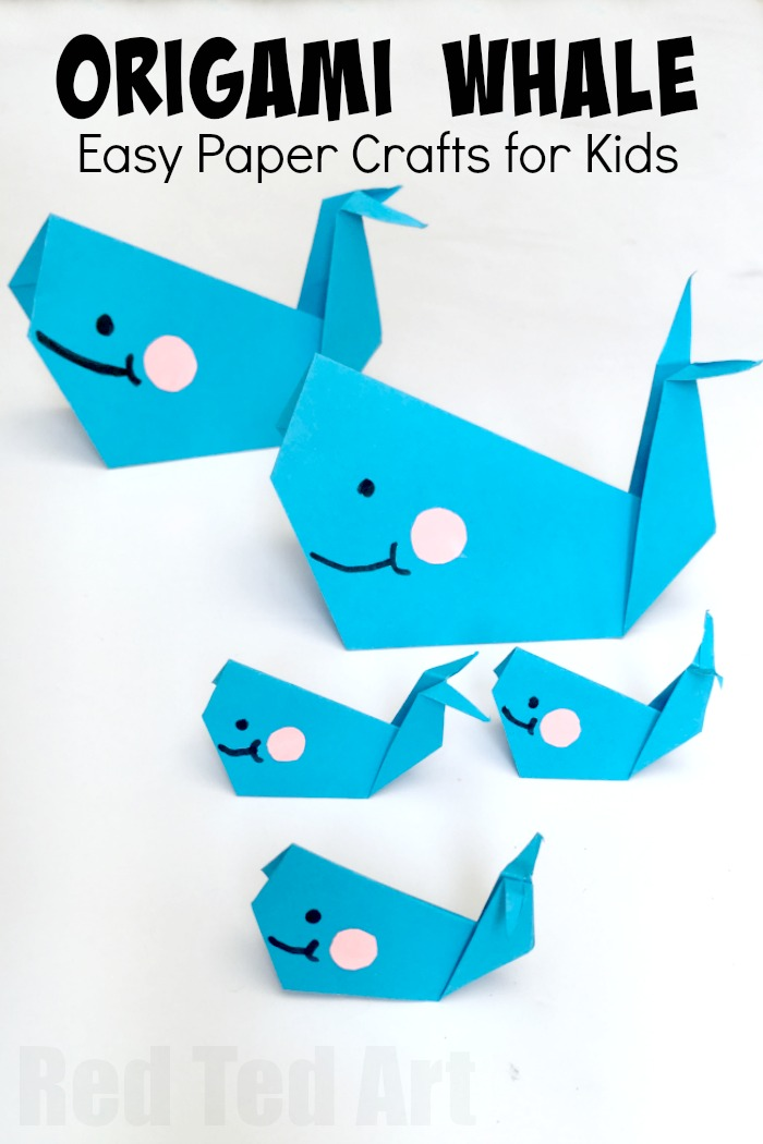 21 Easy Origami Whale