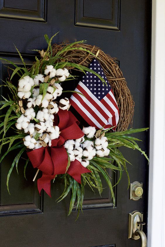 21 Patriotic Flag Wreath