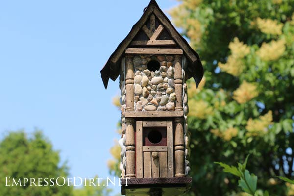 22 How to Make a Stone Birdhouse