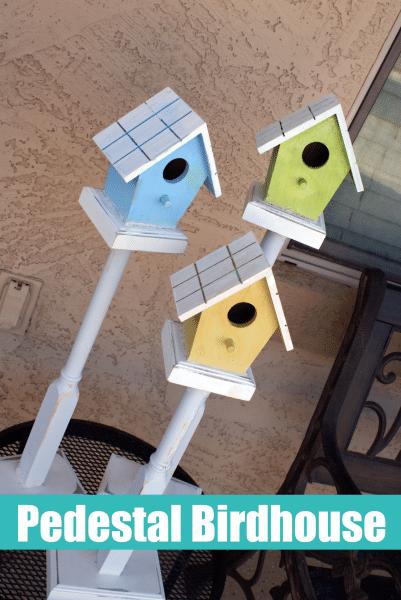 23 How to Make a Pedestal Birdhouse