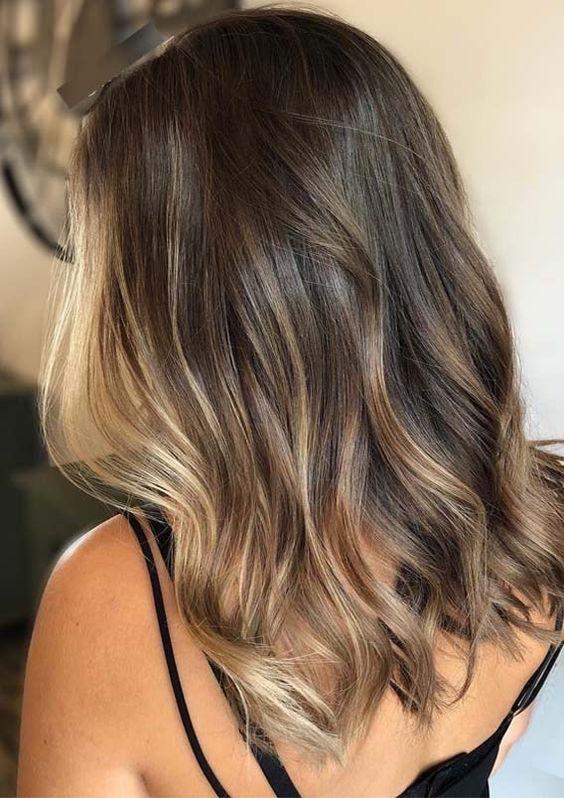 24 Balayage Hair Color
