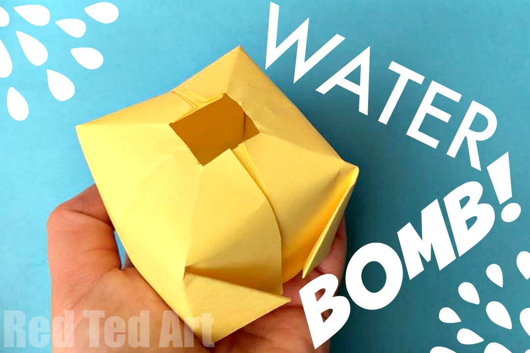 25 DIY Paper Water Bombs