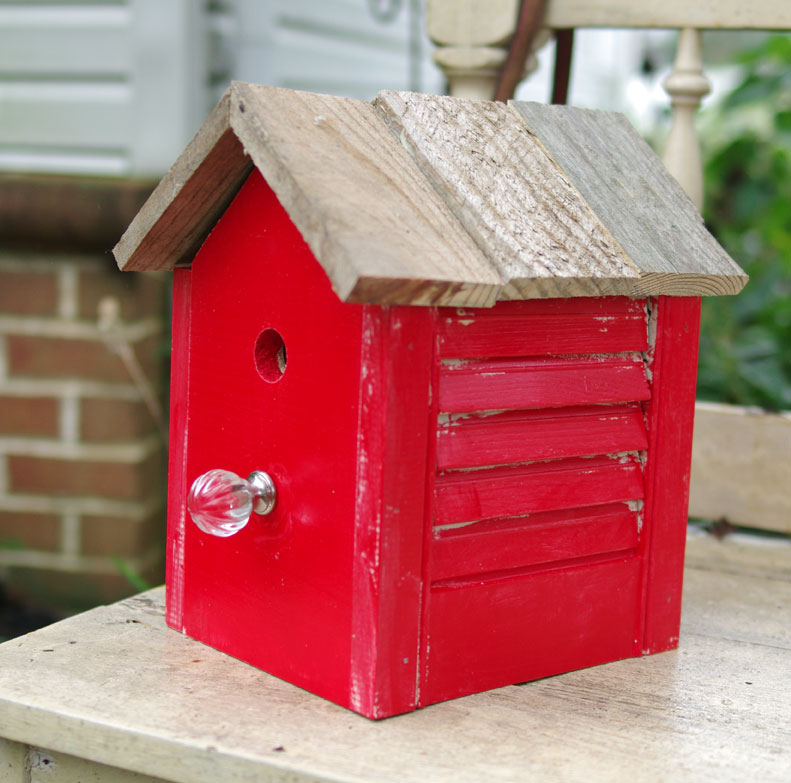 25 How to Make a Rustic Birdhouse