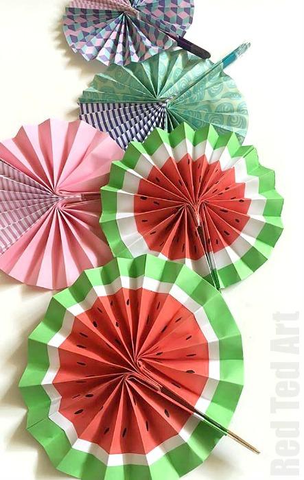26 DIY Paper Fan