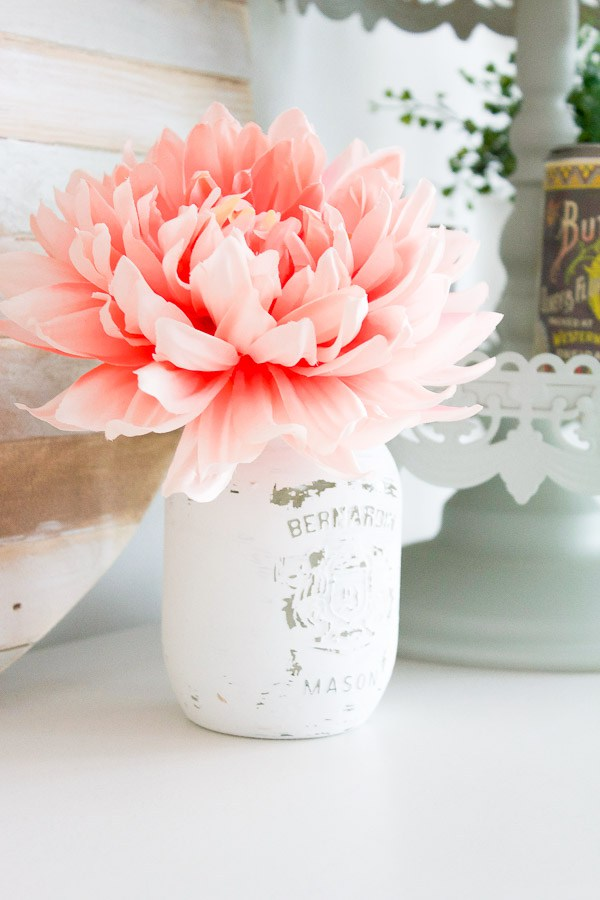 26 How to Paint and Distress Mason Jars