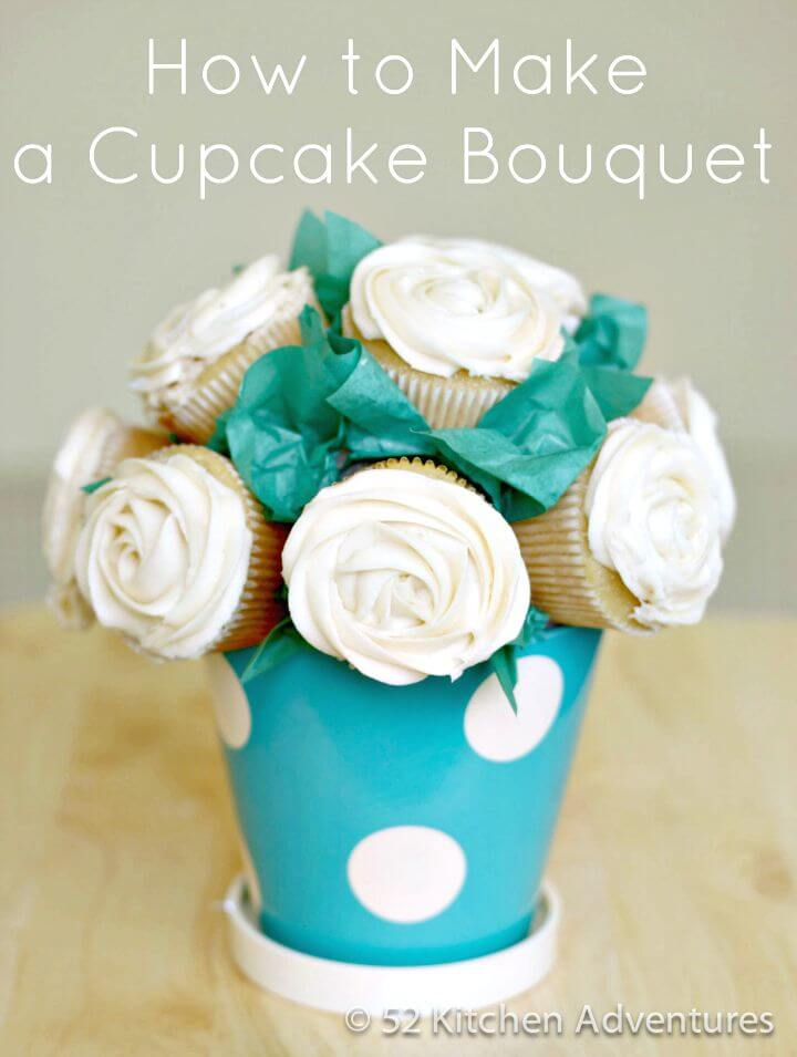 27 Create A Cupcake Bouquet