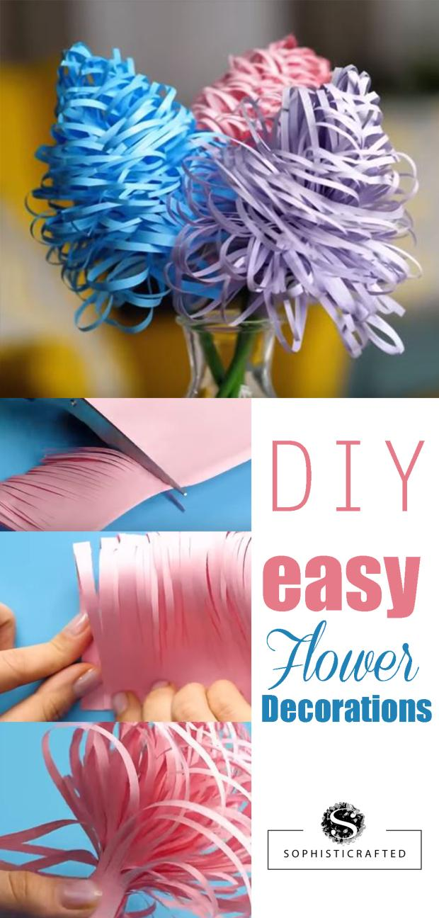 27 DIY EASY FLOWER DECORATIONS
