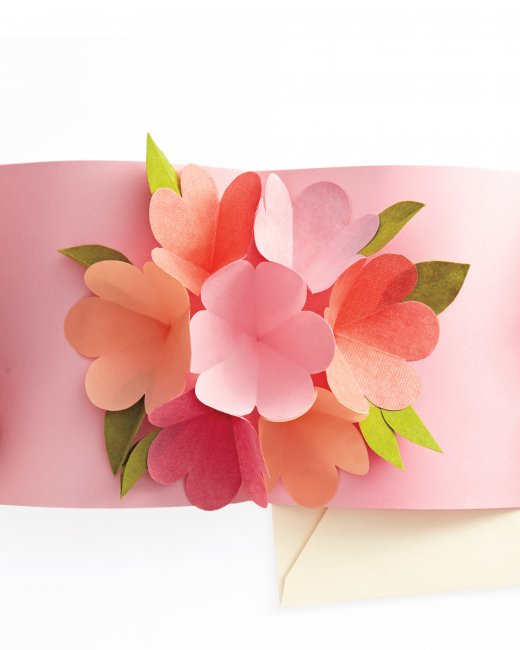 3 Pop-up flower card