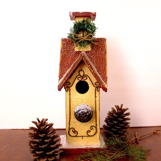 3 Winter Birdhouse