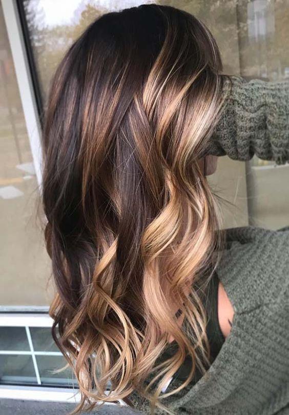 30 Balayage Hair Color