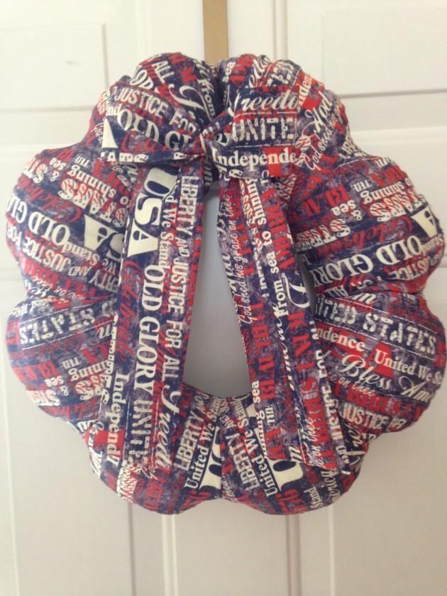 31 Americana Wreath