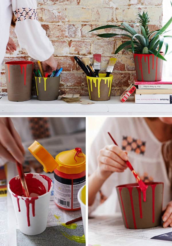 31 Creative DIY ideas Decorate plant pots