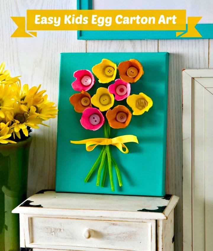 33 DIY Kids Will Love This Egg Carton Art