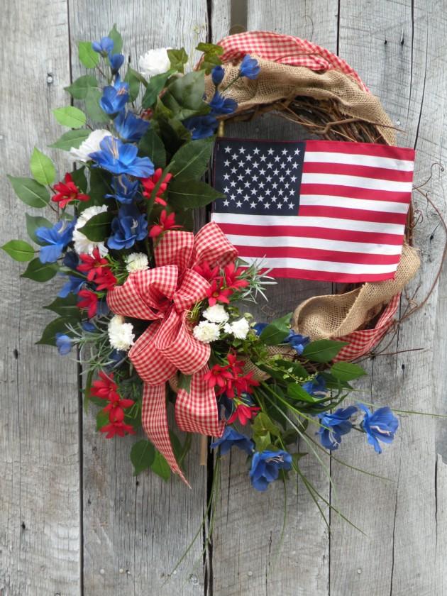 34 Americana Wreath