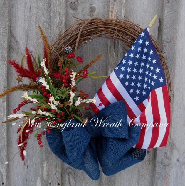 36 Americana Wreath