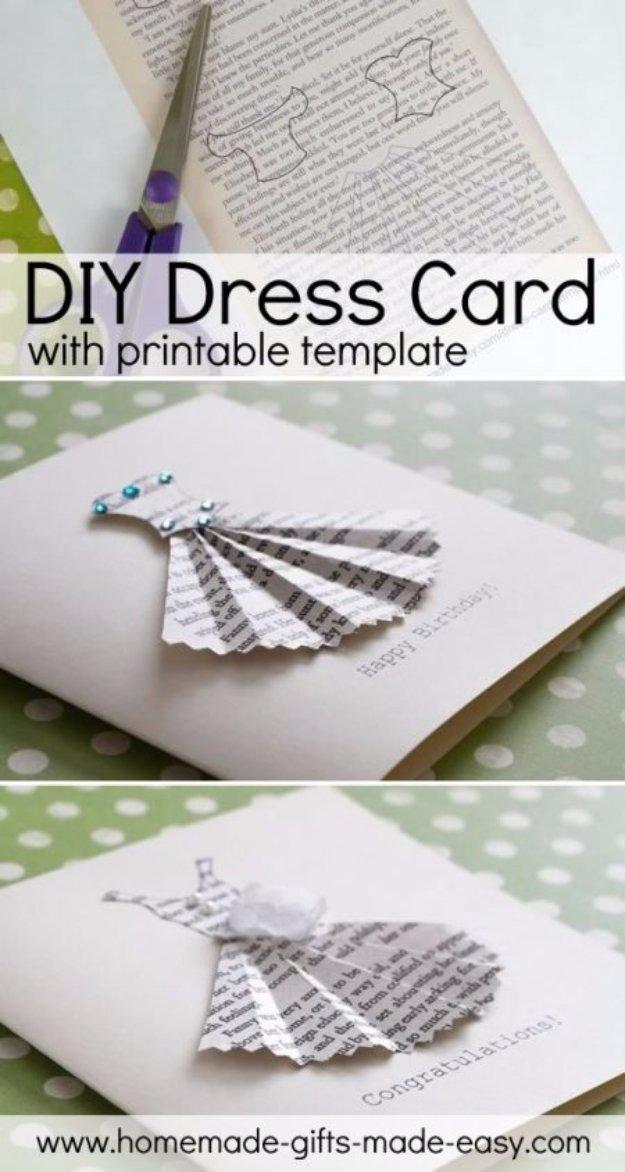 37 DIY Dress Card